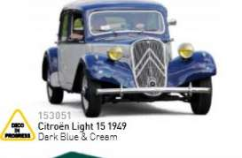 Citroen  - 1949 dark blue & green - 1:43 - Norev - 153051 - nor153051 | Tom's Modelauto's