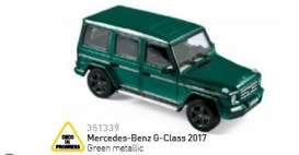Mercedes Benz  - 2017 green metallic - 1:43 - Norev - 351339 - nor351339 | Tom's Modelauto's