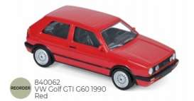 Volkswagen  - 1990 red - 1:43 - Norev - nor840062 | Tom's Modelauto's