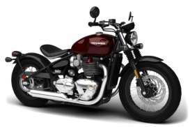 Triumph  - dark red/black - 1:18 - Bburago - bura51067 | Tom's Modelauto's