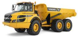 Bburago - Volvo  - bura32085 : Volvo A25G Articulated Hauler, yellow/grey
