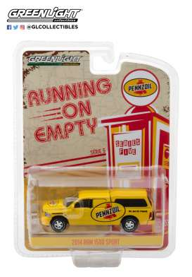 Dodge Ram - 1500 2014 yellow - 1:64 - GreenLight - 41050F - gl41050F | Tom's Modelauto's