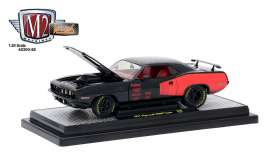 Plymouth  - 1971 black/red - 1:24 - M2 Machines - M2-40300-58A | Tom's Modelauto's