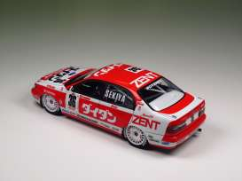 Toyota  - 1994 red/white - 1:24 - Beemax - bmx24013 | Tom's Modelauto's