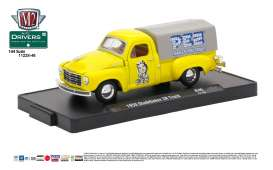 Studebaker  - 1950 yellow - 1:64 - M2 Machines - M2-11228-46A | Tom's Modelauto's