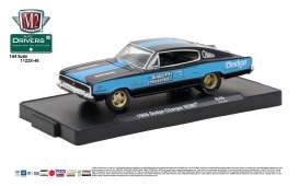 Dodge  - 1966 gloss black/chrysler corp.blue - 1:64 - M2 Machines - M2-11228-46B | Tom's Modelauto's