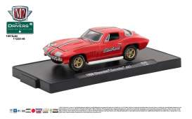 M2 Machines - Chevrolet  - M2-11228-46C : 1966 Chevrolet Corvette 427 (M2-Drivers Release 46), bright red