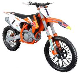 KTM  - Supercross  orange/black - 1:6 - Maisto - 32227 - mai32227 | Toms Modelautos