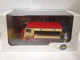 Citroen  - red/cream - 1:43 - Magazine Models - magPU3 | Tom's Modelauto's