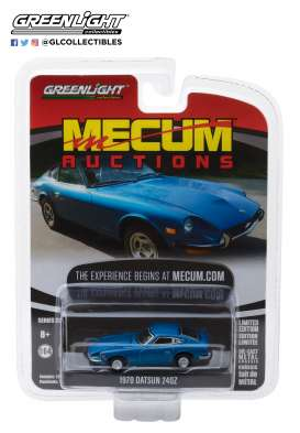 Datsun  - 240Z 1970 blue - 1:64 - GreenLight - 37140B - gl37140B | Tom's Modelauto's