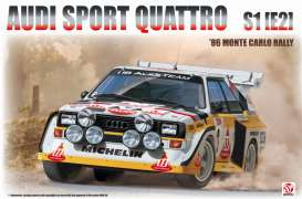 Audi  - 1985 white/yellow/red - 1:24 - Beemax - bmx24017 | Tom's Modelauto's