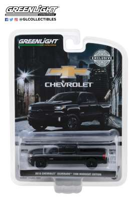 Chevrolet  - 2018 black - 1:64 - GreenLight - 29941 - gl29941 | Tom's Modelauto's