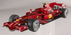 Hotwheels Elite - Ferrari  - hwmvp9967*3 : 2008 Ferrari F1 F2008 F.Massa GP Valencia Hattrick limited edition version, individually numbered.