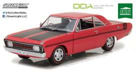 Chrysler  - 1970 red/black - 1:18 - GreenLight - gl18007 | Tom's Modelauto's