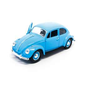 Volkswagen  - 1967 light blue - 1:24 - Lucky Diecast - ldc24202lb | Tom's Modelauto's