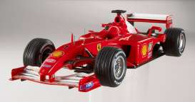 Hotwheels Elite - Ferrari  - hwmvN2075*2 : Ferrari F2001 Michael Schumacher *Elite Serie*, including a booklet with a message from Michael Schumacher to his fans an a litte history of the 2001 F1 season