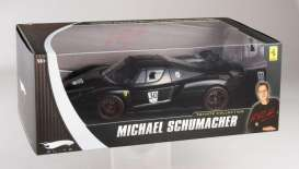 Hotwheels Elite - Ferrari  - hwmvN2061*1 : Michael Schumacher private car collection Ferrari FXX *Elite Serie*, black #30 including a booklet with a message from Michael Schumacher to his fans