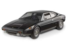 "Hotwheels Elite - Ferrari  - hwmvV7425*2 : Ferrari Dino 308 GT4, owned by Elvis Presley. Ferrari's family of immensely successful V8 road cars began in 1973 with the Dino 308 GT4. This V8-engine road car and first mid-engine 2+2 seating configuration, was styled by Bertone rather than the customary Pininfarina, the styling was incredibly unique and controversial for its time, with its angular wedge shape, it looked quite differently from the 206/246 from which it was derived. The overall shape was very tight and well balanced, and has stood the test of time very well. Elvis, one of the most popular American singers of the 20th century, the ""King of Rock and Roll,"" a cultural icon, in October 1976 decided to include in his huge collection of super car a Dino 308 GT4 black."