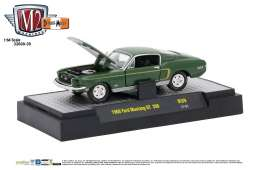 Ford  - 1968 highland green metallic w/gold - 1:64 - M2 Machines - M2-32600-39B | Tom's Modelauto's