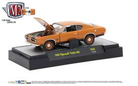 Plymouth  - 1969 bronze fire metallic w/semi-gl - 1:64 - M2 Machines - M2-32600-39C | Tom's Modelauto's