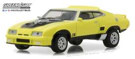Ford  - Falcon XB Custom 1973 yellow blaze with black stripe - 1:64 - GreenLight - 29947 - gl29947 | Toms Modelautos