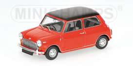 Mini  - 1967 red - 1:43 - Minichamps - 400138700 - mc400138700 | Toms Modelautos