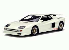 GT Spirit - Ferrari Koenig-Specials - GTKJ012 : Koenig Testarossa Bi Turbo *resin series* Limited Edition made for Kyosho, white