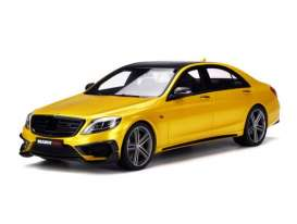 GT Spirit - Brabus  - GTKJ014 : Brabus Rocket S900 *resin series* Limited Edition made for Kyosho, gold-yellow/black
