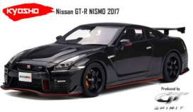 GT Spirit - Nissan  - GTKJ015 : 2017 Nissan GT-R Nismo *resin series* Limited Edition made for Kyosho, black