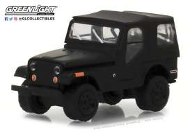 Jeep  - 1970 black - 1:64 - GreenLight - 27950D - gl27950D | Tom's Modelauto's