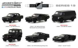 Assortment/ Mix  - black - 1:64 - GreenLight - 27950 - gl27950 | Tom's Modelauto's