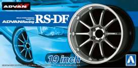 Aoshima - Rims & tires  - abk15328 : 1/24 Advan Racing RS-DF 19inch