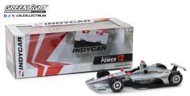 Chevrolet  - Indy car #12 2018 silver/red - 1:18 - GreenLight - 11031 - gl11031 | Tom's Modelauto's