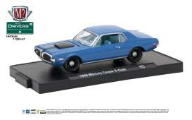 Mercury  - 1968 nordic blue metallic w/semi-gl - 1:64 - M2 Machines - M2-11228-47C | Tom's Modelauto's