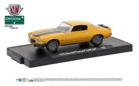 Chevrolet  - 1970 camaro gold metallic w/gloss b - 1:64 - M2 Machines - M2-11228-47E | Tom's Modelauto's