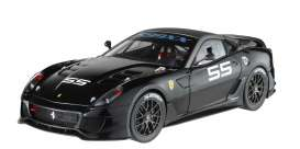 Hotwheels Elite - Ferrari  - hwmvT6252*1 : 2009 Ferrari 599XX, black (Limited Edition)