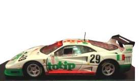 Hotwheels Elite - Ferrari  - hwmvp9921*1 : 1994 Ferrari F40 Lemans #29 Totip, green/white/orange