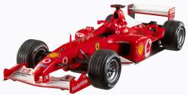 Hotwheels Elite - Ferrari  - hwmvN2076*2 : Ferrari F2002 Michael Schumacher *Elite Serie*, including a booklet with a message from Michael Schumacher to his fans an a litte history of the F1 season