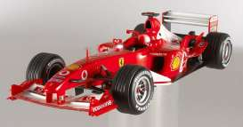 Hotwheels Elite - Ferrari  - hwmvN2077*1 : Ferrari F2003 GA Michael Schumacher *Elite Serie*, including a booklet with a message from Michael Schumacher to his fans an a litte history of the F1 season