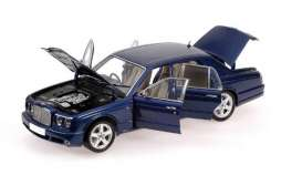 Bentley  - 2004 blue - 1:18 - Minichamps - 100139400 - mc100139400 | Tom's Modelauto's