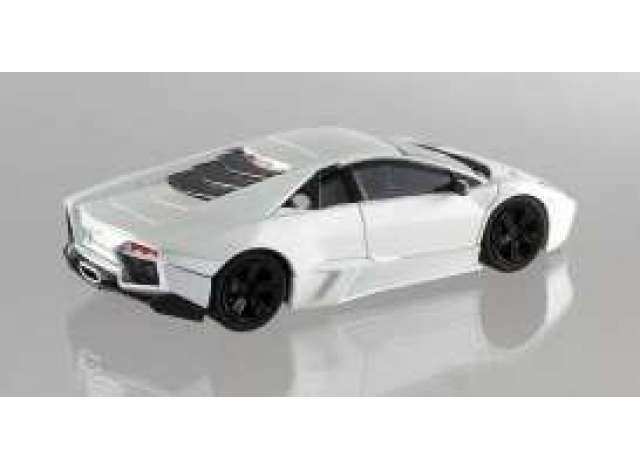 1:43 Hot Wheels elite Lamborghini reventon White New en Premium-modelcars