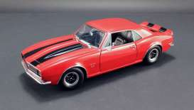 Chevrolet  - 1967 red/black - 1:18 - Acme Diecast - acme1805711 | Tom's Modelauto's