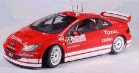 Peugeot  - 2004 red - 1:18 - Solido - 150001 - soli150001 | Toms Modelautos