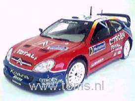 Citroen  - 2004 red - 1:18 - Solido - 150255 - soli150255 | Tom's Modelauto's
