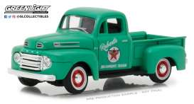 Ford  - F-1 pick-up 1948 green - 1:43 - GreenLight - gl87010A | Tom's Modelauto's