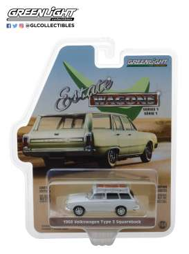 Volkswagen  - 1965 lotus white - 1:64 - GreenLight - 29910D - gl29910D | Tom's Modelauto's