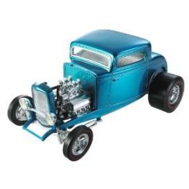 Ford  - 1932 blue - 1:18 - Hotwheels - hwmvJ2879 | Tom's Modelauto's