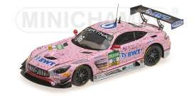 Mercedes Benz  - AMG GT3 2017 Pink - 1:43 - Minichamps - mc437173026 | Tom's Modelauto's