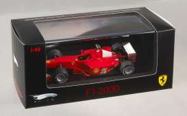 Ferrari  - 2000 red - 1:43 - Hotwheels Elite - hwmvp9943 | Tom's Modelauto's