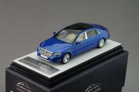 Mercedes Benz  - 2016 blue - 1:43 - Almost Real - ALM420105 | Tom's Modelauto's